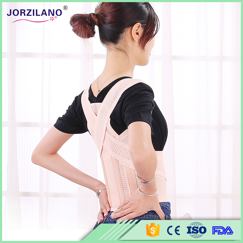 Women Adjustable Back Support Belt Posture Corrector Brace Shoulder Support Back Brace Posture Correction for Hunch