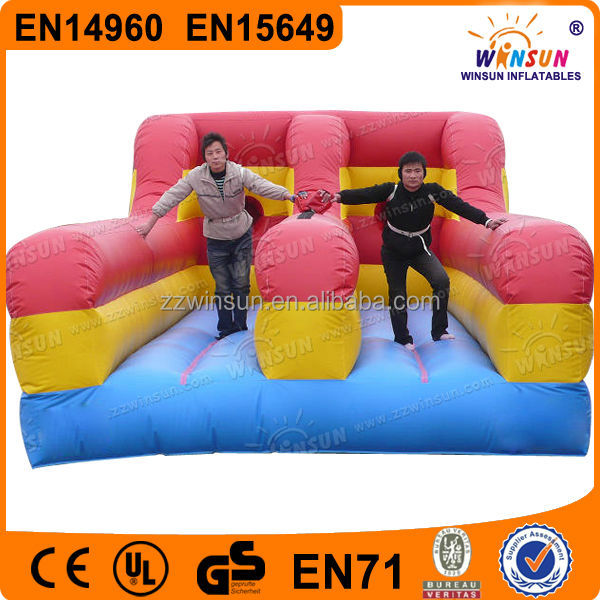 Fashipnable Design Interesting Hot Selling Outdoor Playing Inflatable Bungee Run Extreme