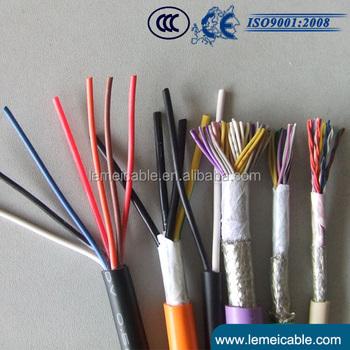 450/750v Pvc Insulated Copper Wire Braiding Shielded Steel Wire ...