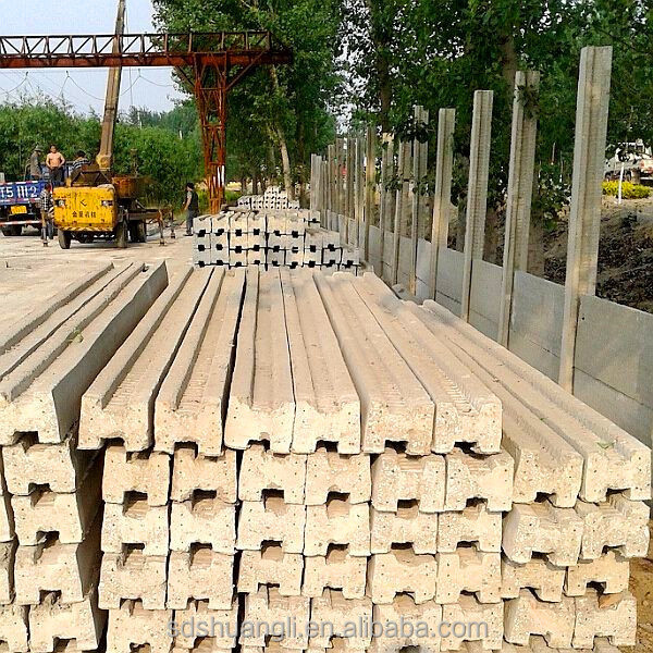Precast Concrete Pole Bases : Precast concrete mold fence pillar base