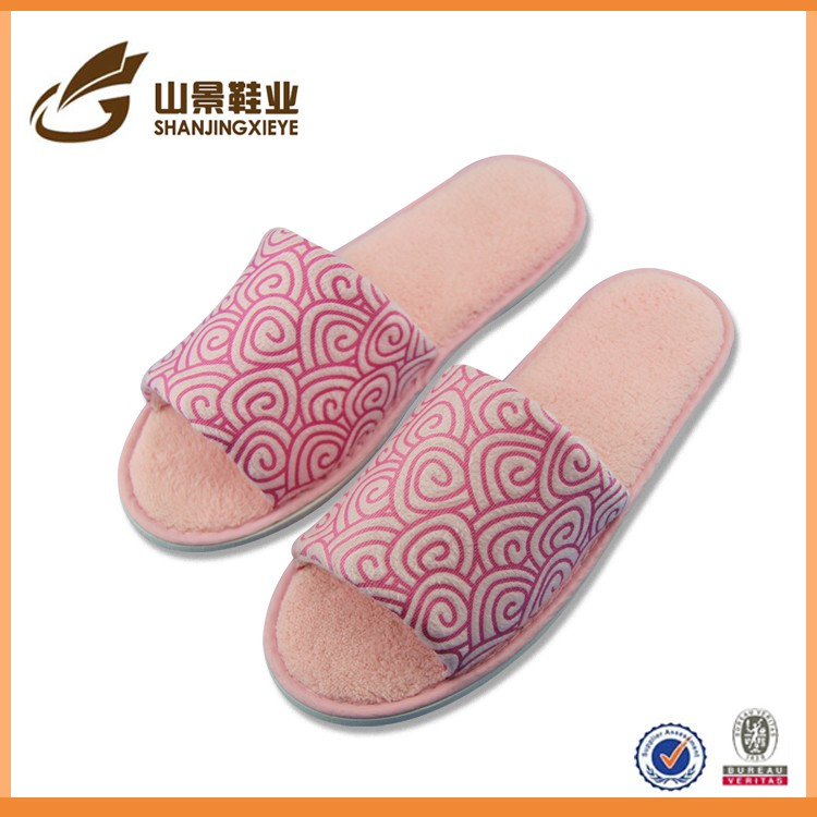 Japan hot selling men women slipper personalized house shoe