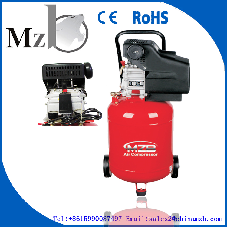 gold supplier for MZB brand vertical air compressor