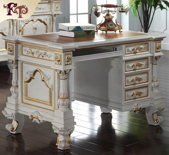 Office Furniture Hand Carved Solid Wood