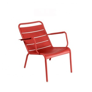 colorful Aluminum fermob luxembourg low back lounge chair