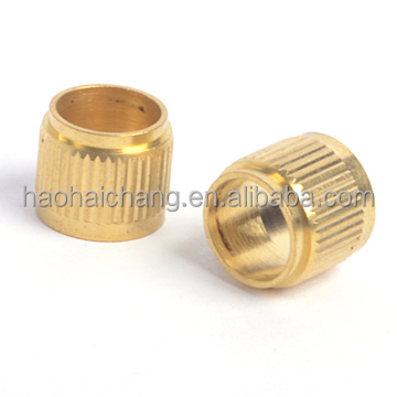 CNC precision high strength brass bushing with outer thread