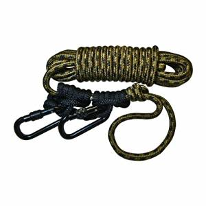 2d9256f788 Get Quotations · Hunter Safety System Lifeline Safety Harness with 2  Prussic Knots by Hunter Safety System
