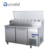 Refrigerator Freezer Marble Top Pizza Prep Table FRCR-2-1