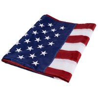 Hot Sell 2x3ft,3x5ft,4x6ft 210D nylon embroidered stars sewn stripes USA American flag Have STOCK