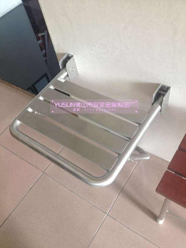 Wall Mounted Stainless Steel Shower Seat Bathroom Folding Shower ...