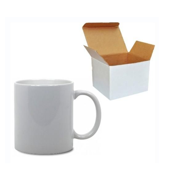 Low Price High Quality 11oz Ceramic Dye Sublimation Blank White Mugs for Heat Press Printing Manufacturer Wholesale