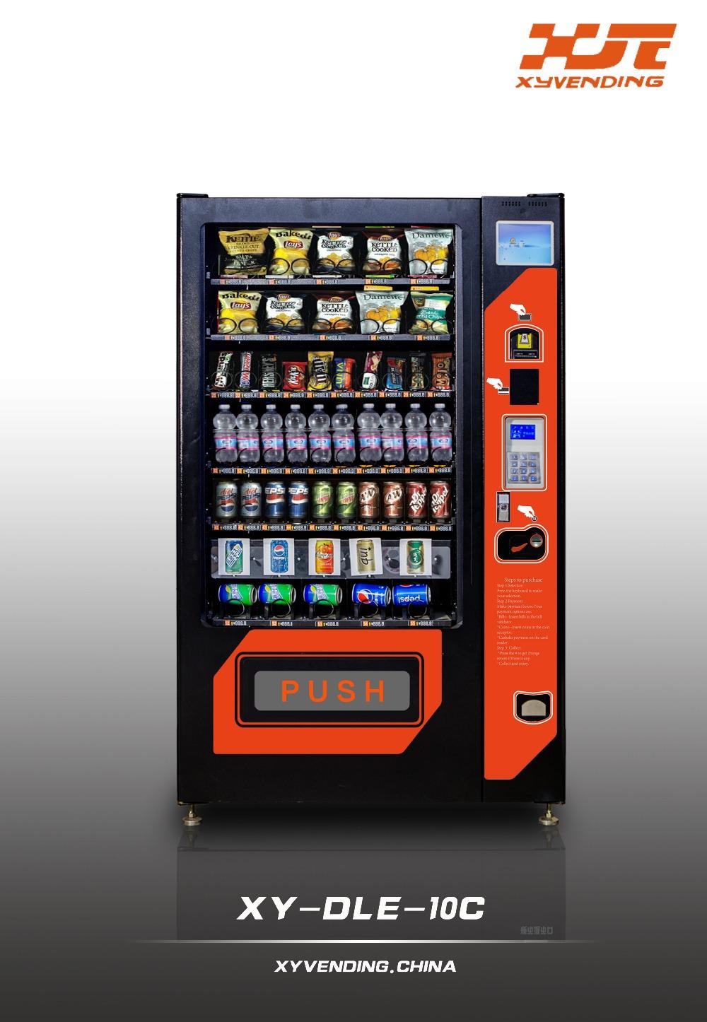 Hot Sale Combo Drink And Snack Vending Machine Australia