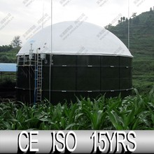 Bio Gas Production, Biogas Storage Tanks For Waste Management