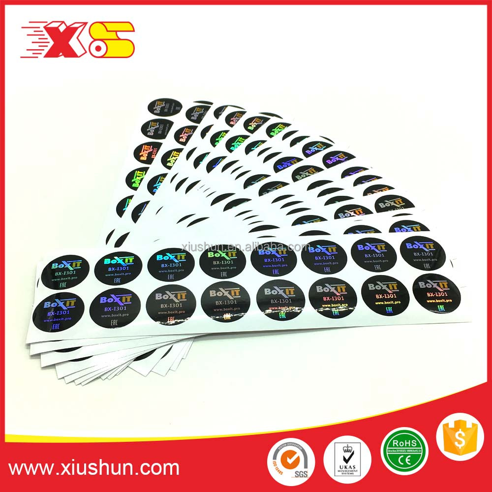 custom stickers waterproof labels electronic adhesive labels