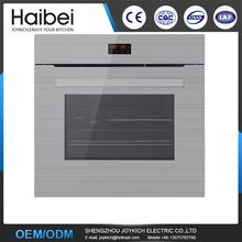 Eletric stainless steel oven with oven glove built-in gas oven