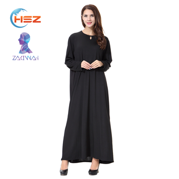 Zakiyyah TH905 Arab loosen waist abaya for muslim women long dress kaftan
