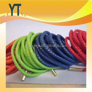 Hot New Products On China Market PREMIUM Rope Shoe Lace Gold Aglets For Kith Asics Gel Yeezy Jordan Nike Roshe Fashion Shoelace