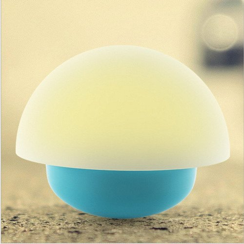 Touch sensor color changing led battery operated table lamp with usb port