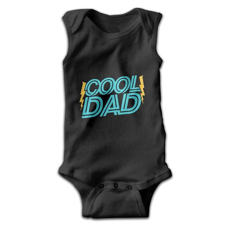 Efbj Toddler Baby Girls Rompers Sleeveless Cotton Jumpsuit,Fathers Day Bodysuit Autumn Pajamas