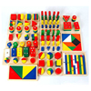14 Items Package Gift Set Wooden Toy For Children Educational Jigsaw Puzzles Family School Early Learning Math Toys