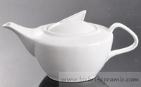 1250ml Plain White Antique Design China Original Ceramic Coffee ...