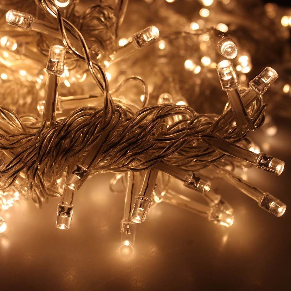 3 450 led icicle string christmas xmas fairy lights for Christmas lights and decorations