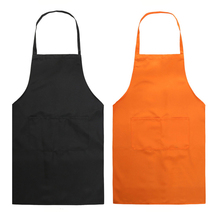 Cheap custom printed logo cooking waist cobbler pinafore barista restaurant waiter canvas apron with pocket