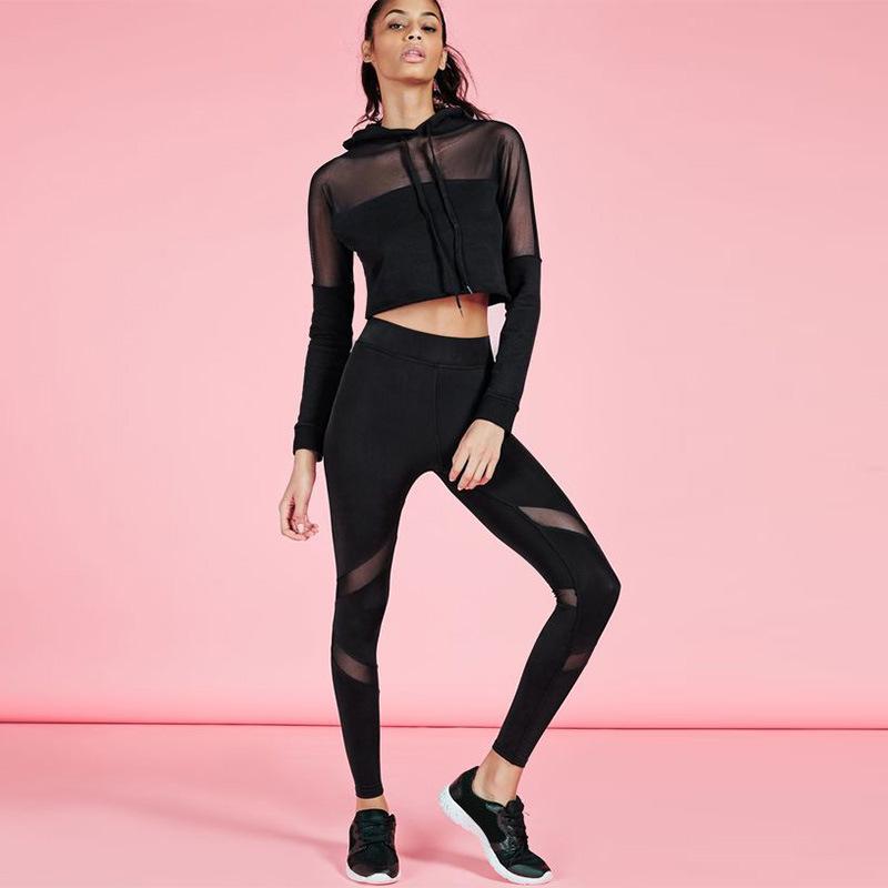bb1878a66232c Women Gym Tights High Quality Blank Black Yoga Leggings - Buy Women ...