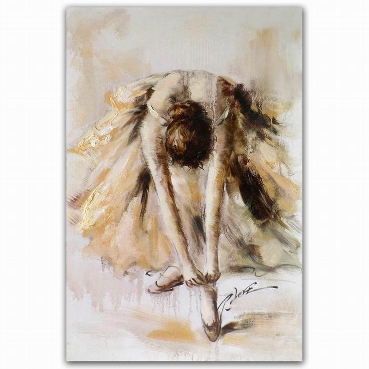 Vaak Beroemde Abstract Art Schilderijen Dansen Vrouwen Figuur Spanje @WF51