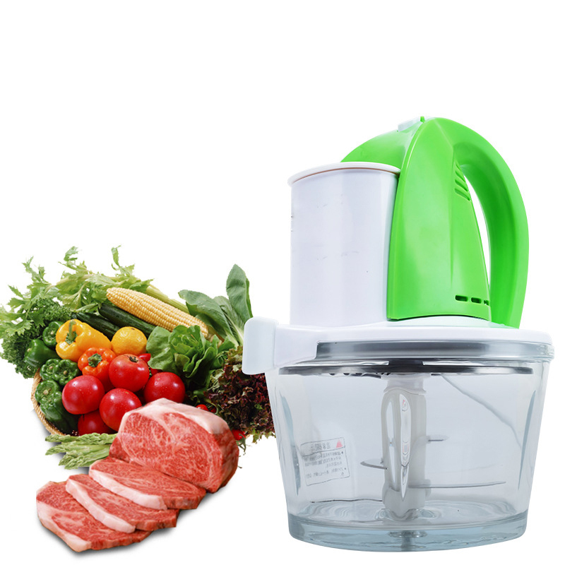 Multifunction Meat Grinders Mincer Meat Cutter Blade Sliced Vegetables Cooking Machine 250W Electric Grinder For Kitchen JRO2