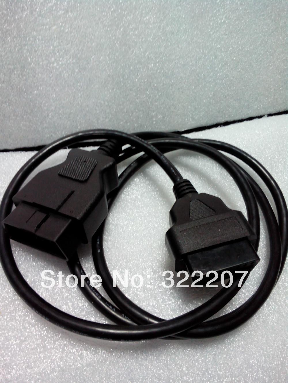 Супер 16Pin разъем удлинитель OBD2 соединительный кабель 16Pin удлинитель 3 м