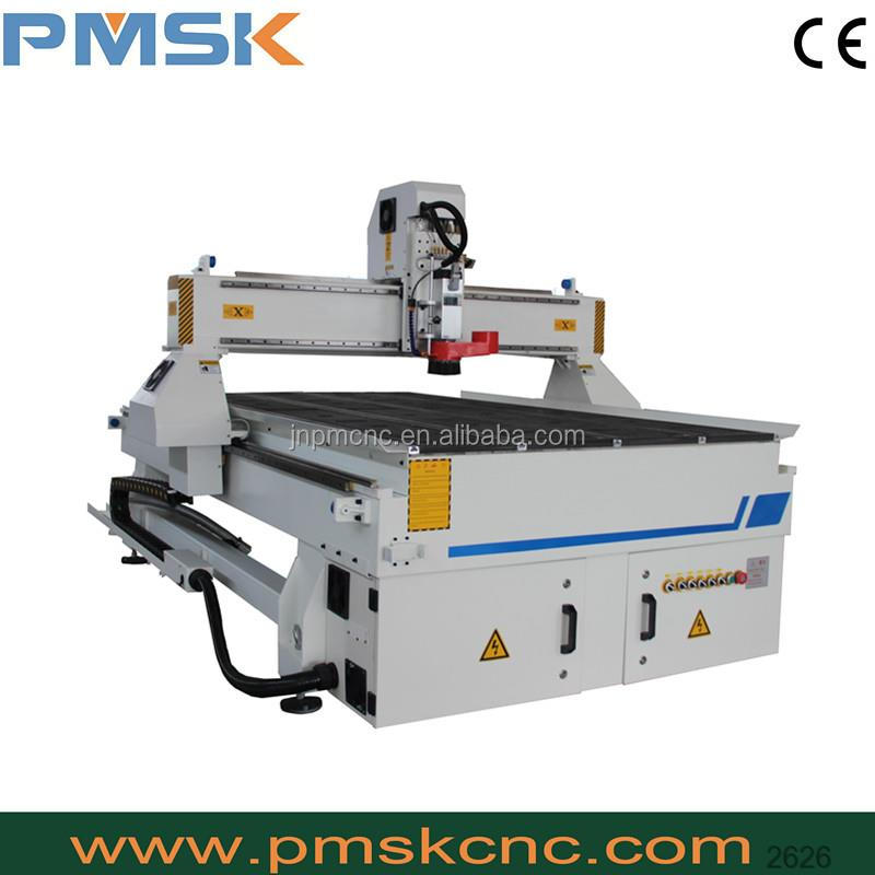 high quality cnc router king cut cnc machine with servo motor
