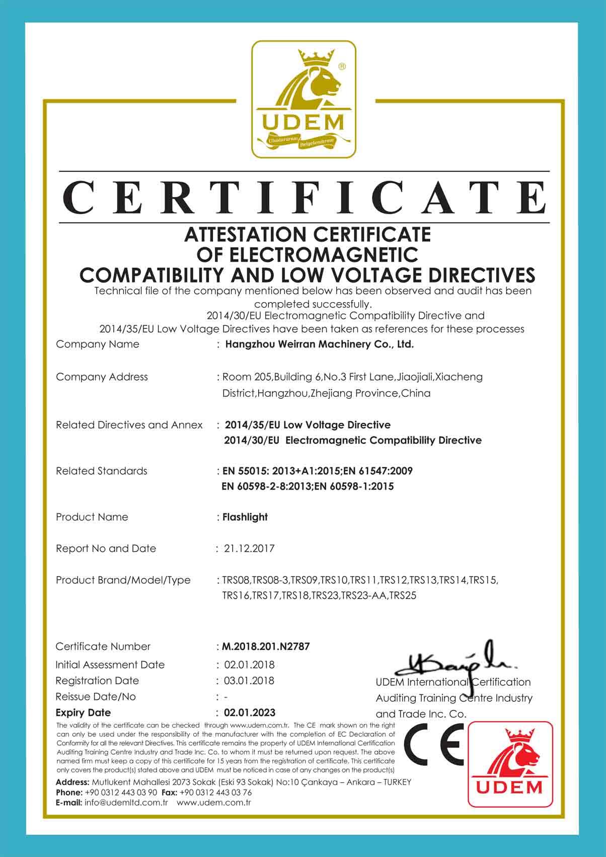 Company Overview Hangzhou Weirran Machinery Co Ltd