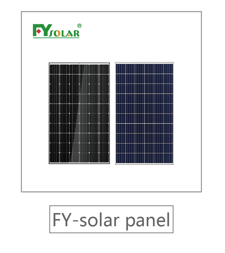 complete stand alone 5000W solar panel system generator with inverter batteries solar mounting