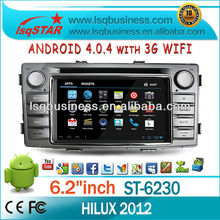LSQ Star Hot Sell Android Car Radio For Toyota Hilux for St-6230