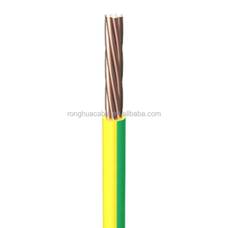copper cable 1.5 mm 2.5mm 4mm 6mm 10mm house wiring Electrical cable copper single core PVC wire
