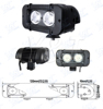High Effiency led auto lamp led atv light bar waterproof