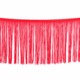 high quality red tassels decorative lace trim for girl