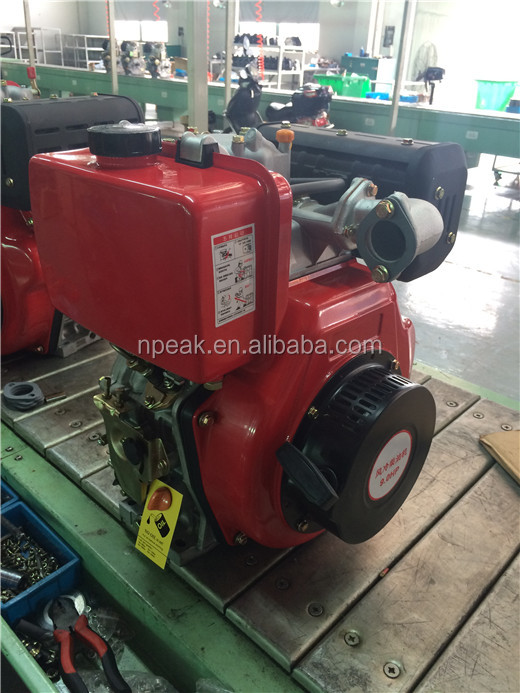 9hp 400cc marine boat air cooled electric diesel engine for sale