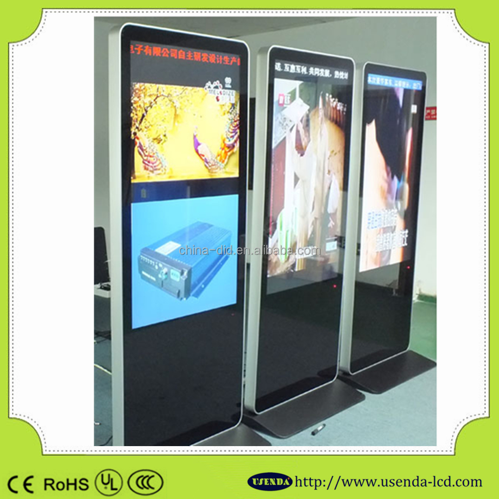 55inch TFT Interactive Multi-touch AD advertising display monitor,LCD HD Digital Signage, Advertising Table Touch Screen