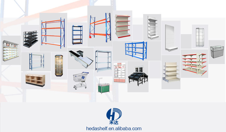 Factory Direct Price China Supplier Accepted Customized Supermarket Shelf Rack