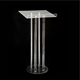 Customized cheap acrylic cross church lectern