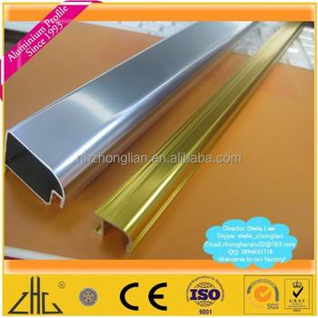 Wow Shing Silver Golden Anodize Ss Brush Polished Modular Aluminum