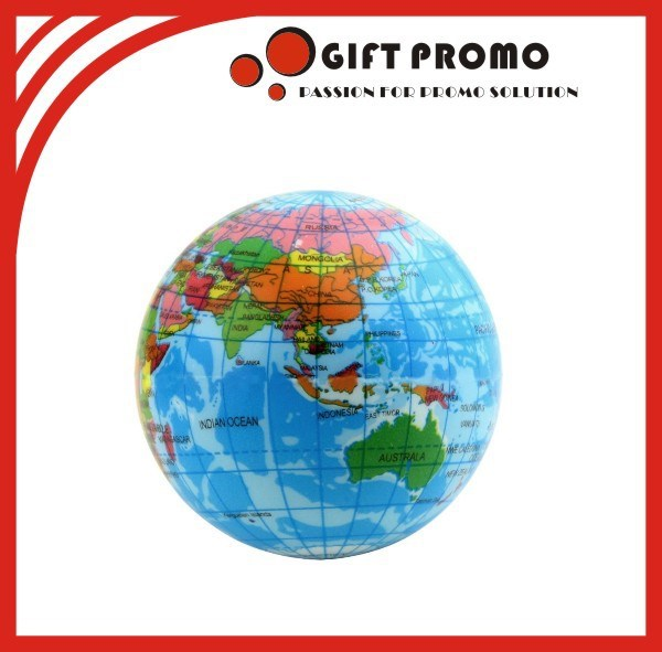 Promotional Inflatable World Map Beach Ball