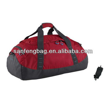 Hawk 60 Sports Holdall in red inter sports bag
