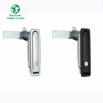 Waterproof Flat Swing Door Handle Lock Pick Set Zinc Alloy