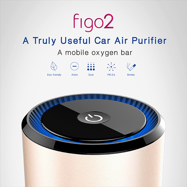 Portable Plug In Purifier Mini Ionic Air Cleaner For Car Vehicle Motorcycle