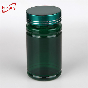 Alibaba Round Green 150ml Plastic Capsule Pet Bottle Manufacturer