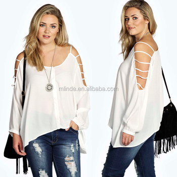 72b9851883c latest fat women tops women off shoulder top fat women new tops EVE LADDER  CUT OUT