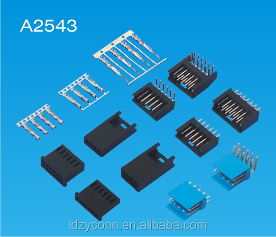 UL 2.54mm 64p right or vertical pin wafer connector manufacturer replaces AMP 280358
