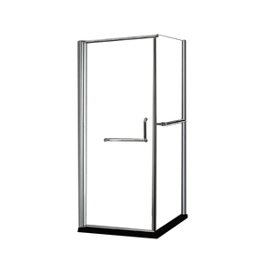 K-22 90*90cm Simple Design Square Corner Bath Prefabricated Bathroom Pods Small Shower Enclosure